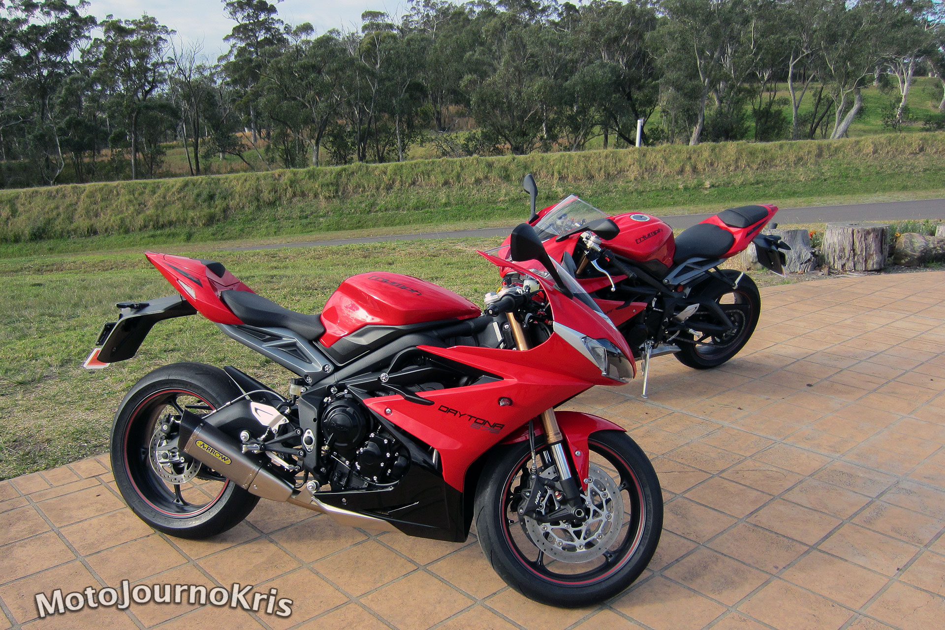2013 Triumph Daytona 675 Launch