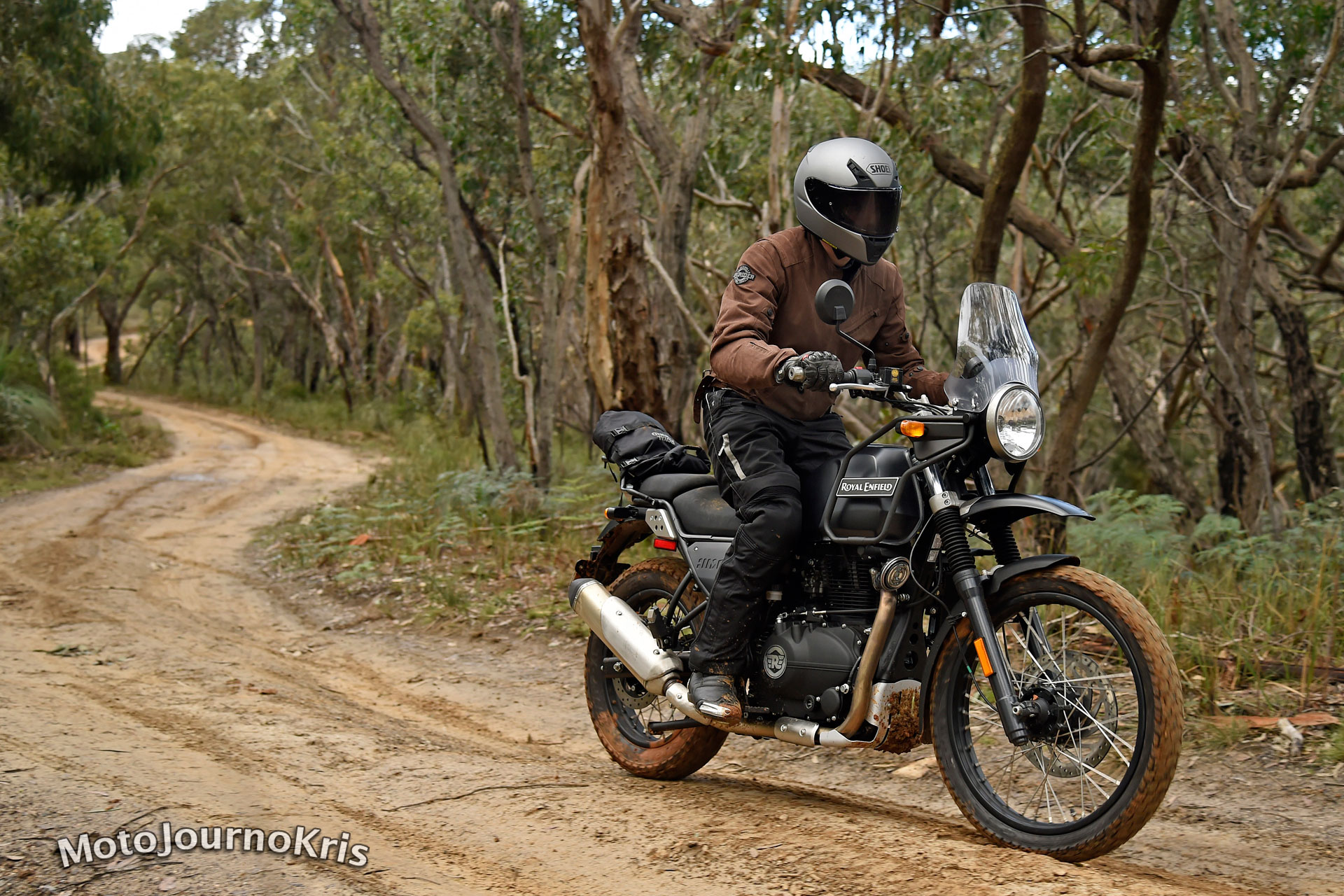 2017 Royal Enfield Himalayan - Image courtesy of Royal Enfield Australia, by Jeff Crow