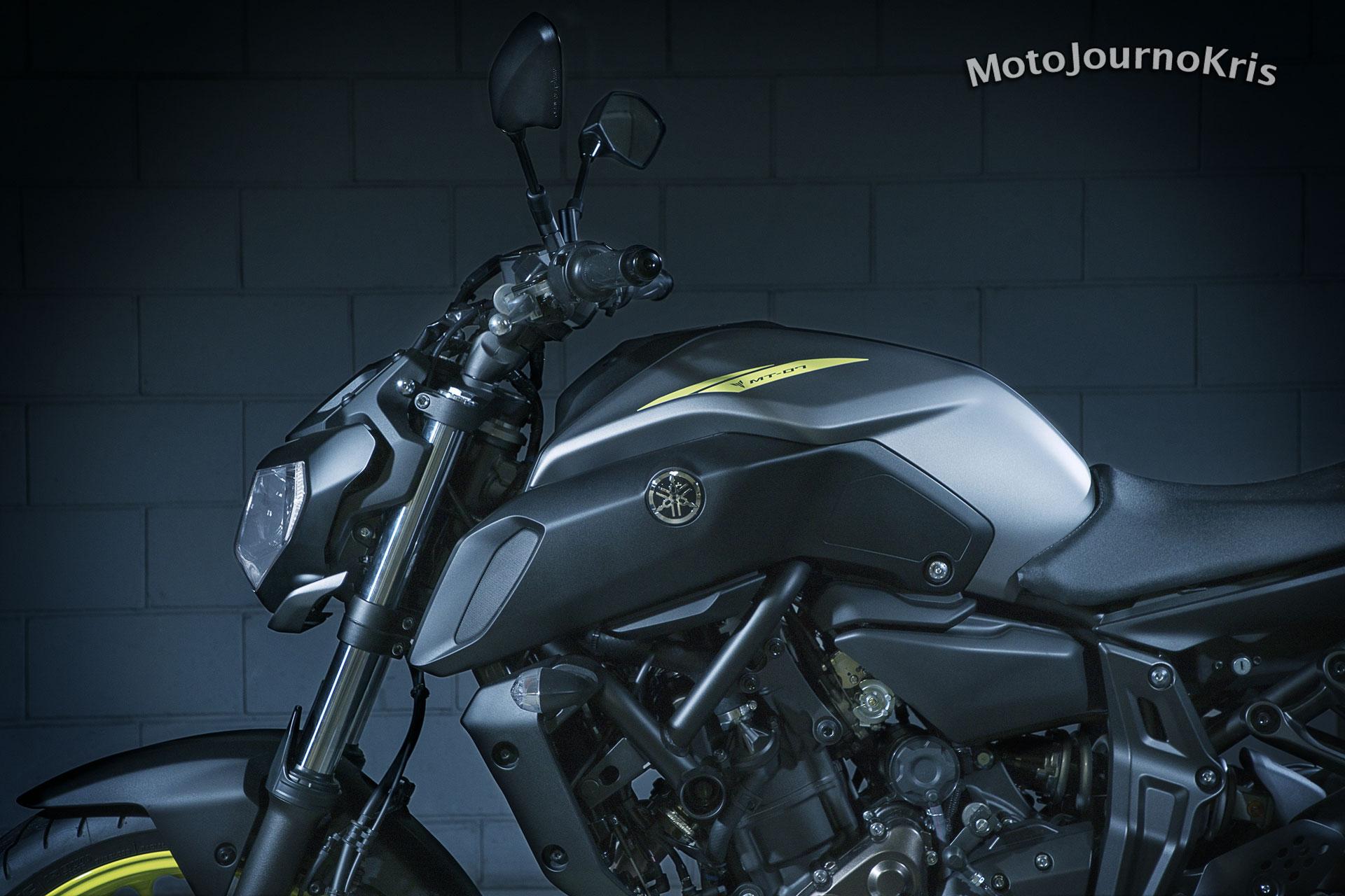 Yamaha's MT-07 nakedbike
