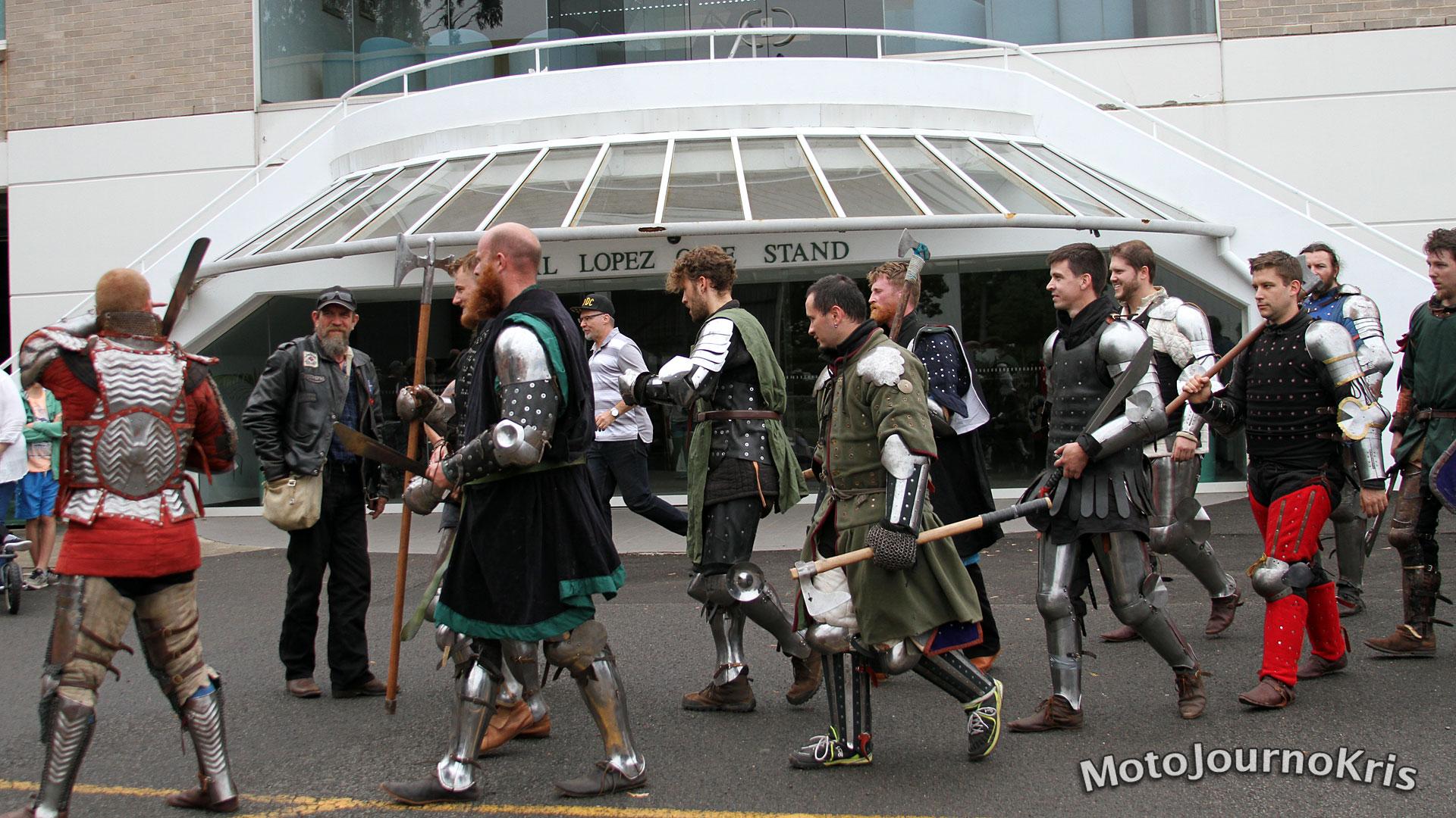 Australian Medieval Combat - Havoc v Kraken - Bankstown 2016