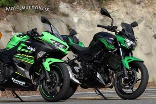 Kawasaki Z400 versus Ninja 400