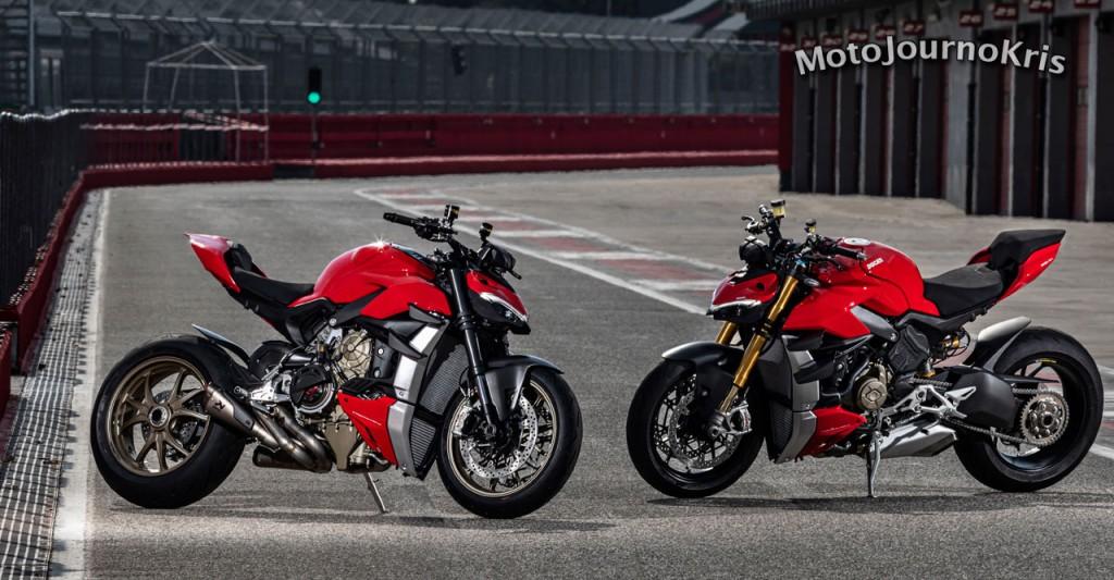 2020 Ducati Streetfighter V4 and V4 S