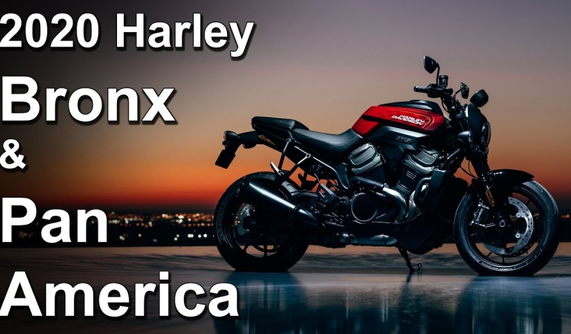 2020 Harley-Davidson Pan America and Bronx new model overview