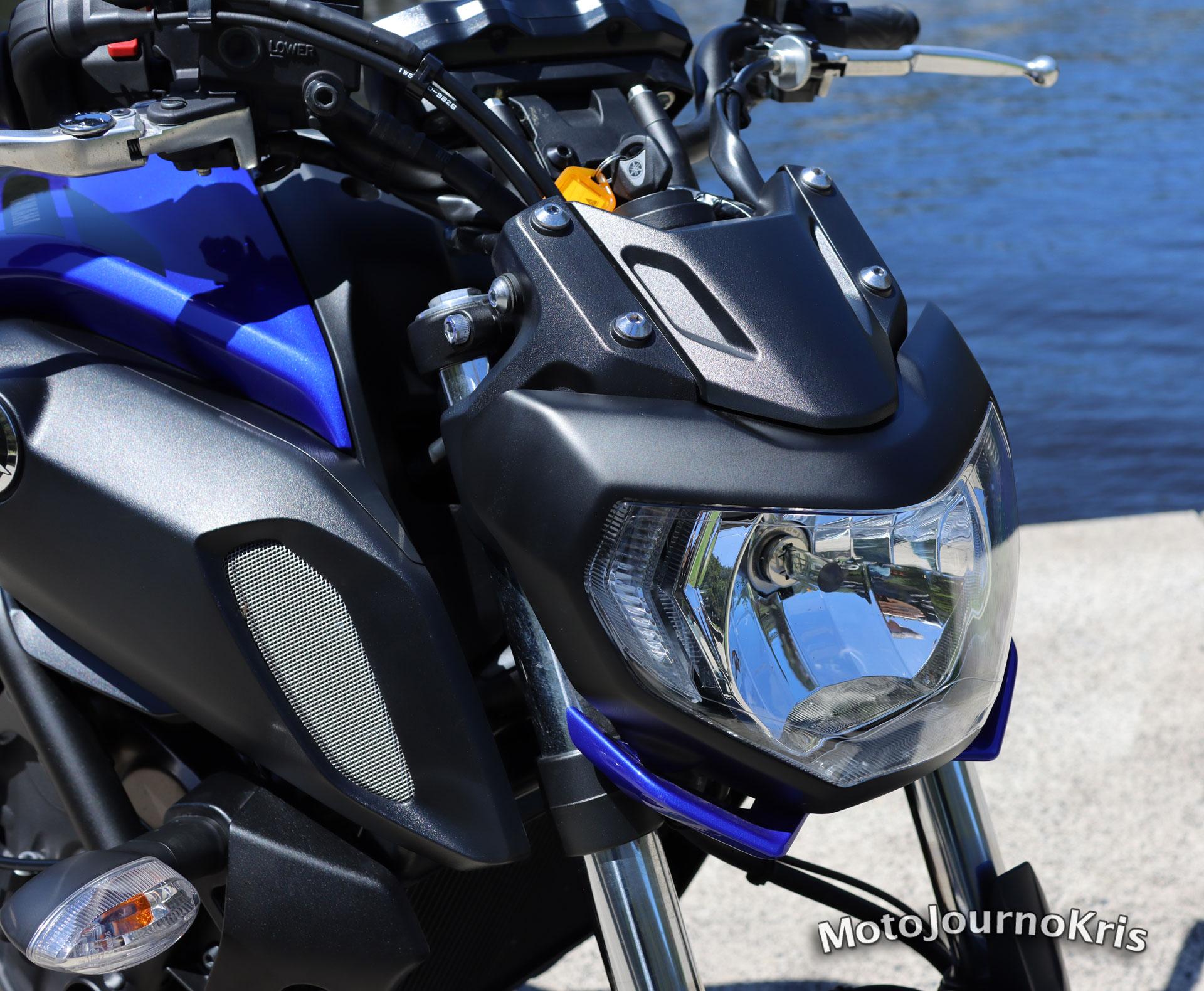 Yamaha MT-07 stock headlight