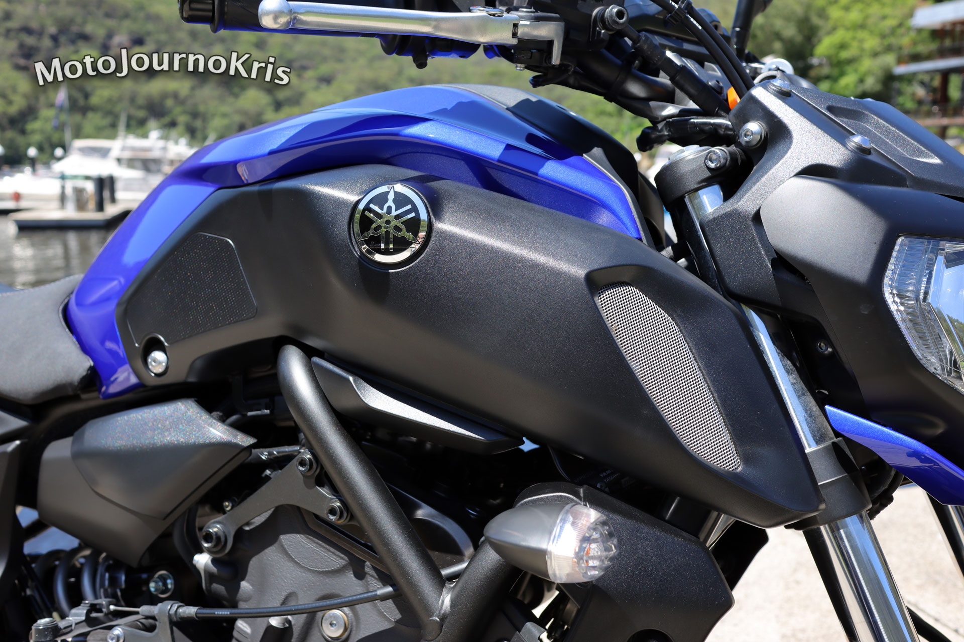 Yamaha MT-07 air intake
