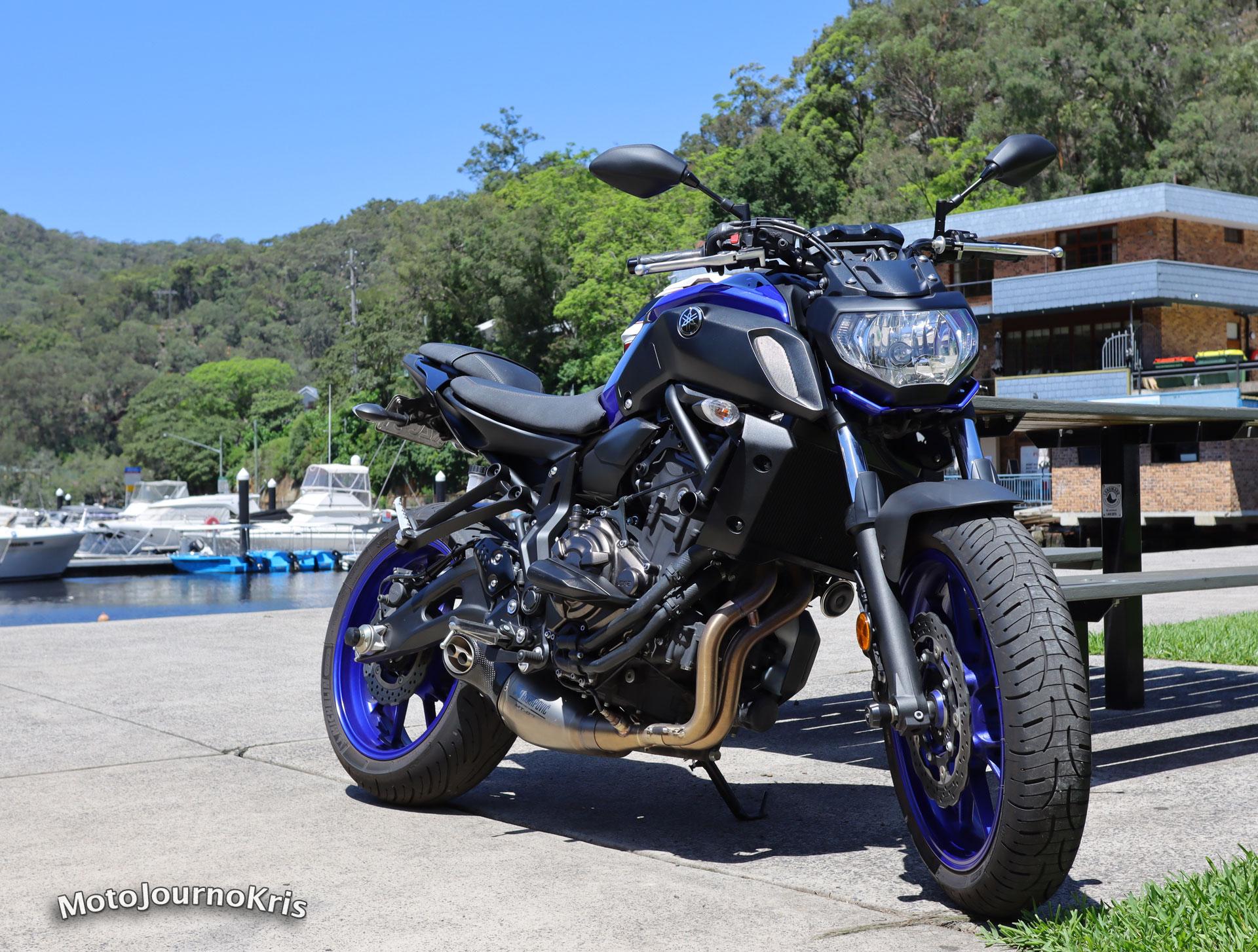 Yamaha MT-07 LAMS