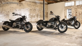 2020 BMW R 18 cruiser standard and modified with genuine accessories