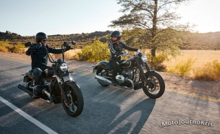 2020 BMW R 18 cruiser out on the open road