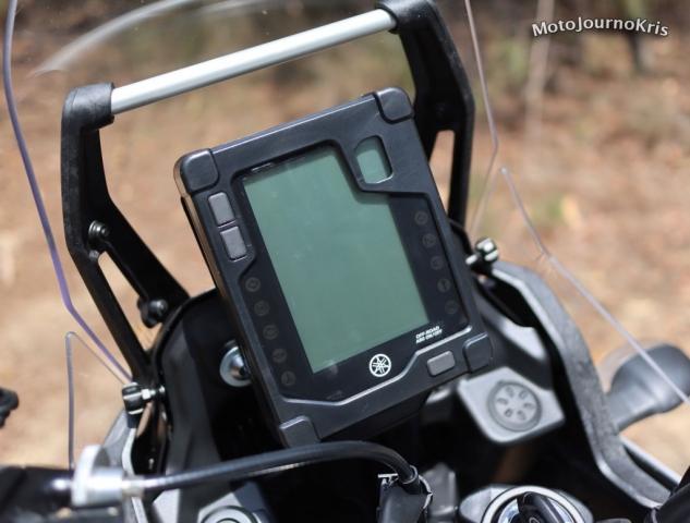 2020 Yamaha Tenere 700 LCD dash