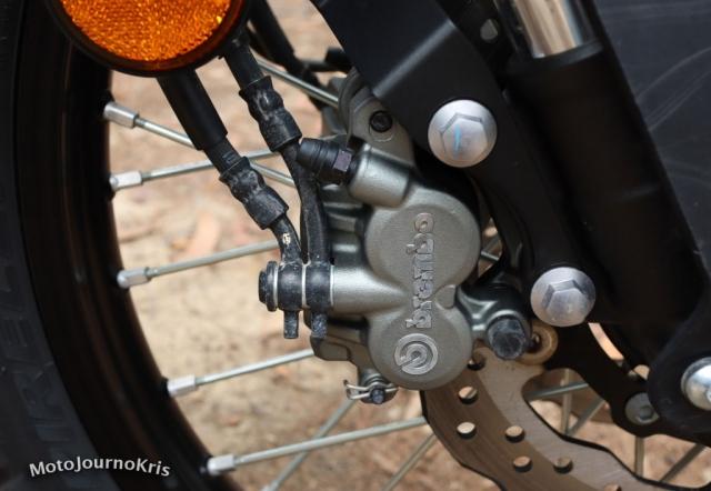 2020 Yamaha Tenere 700 Brembo brakes