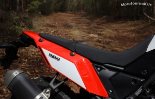 2020 Yamaha Tenere 700 seat and tail