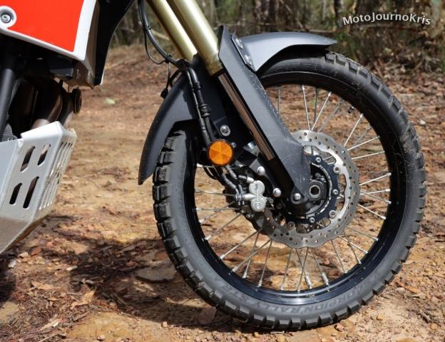 2020 Yamaha Tenere 700 front wheel