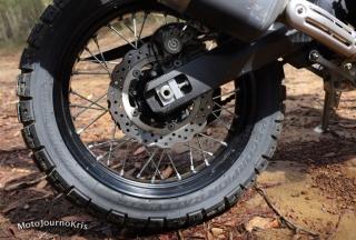 2020 Yamaha Tenere 700 rear wheel