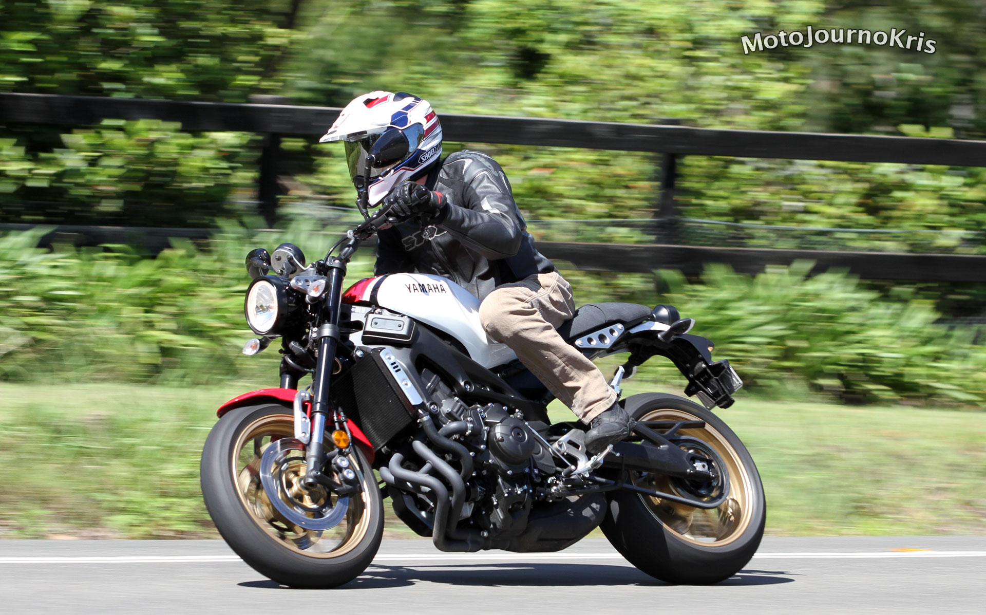 2020 Yamaha XSR900 Motorcycle Review
