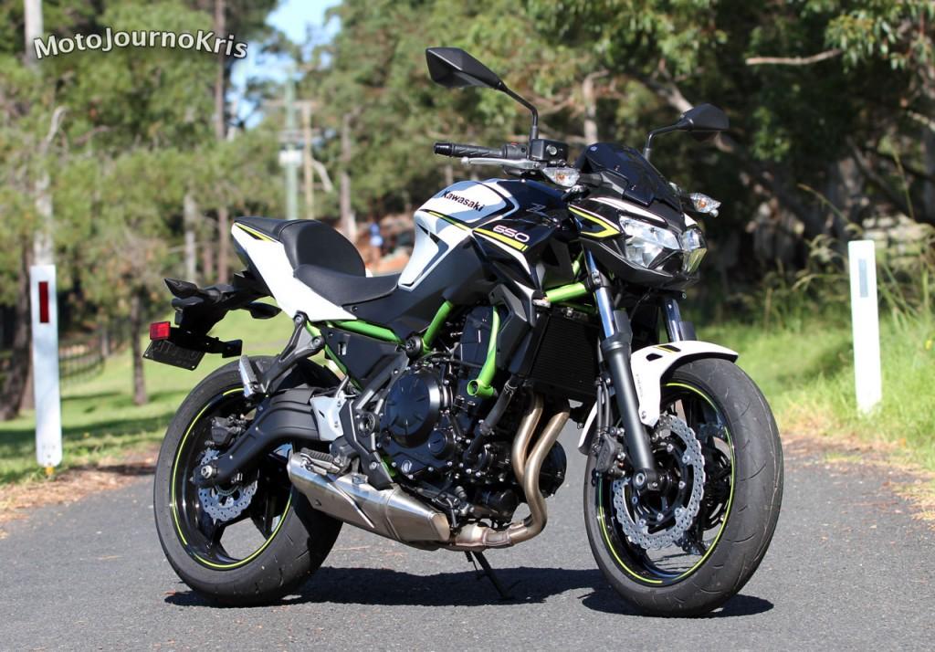 2020 Kawasaki Z650L