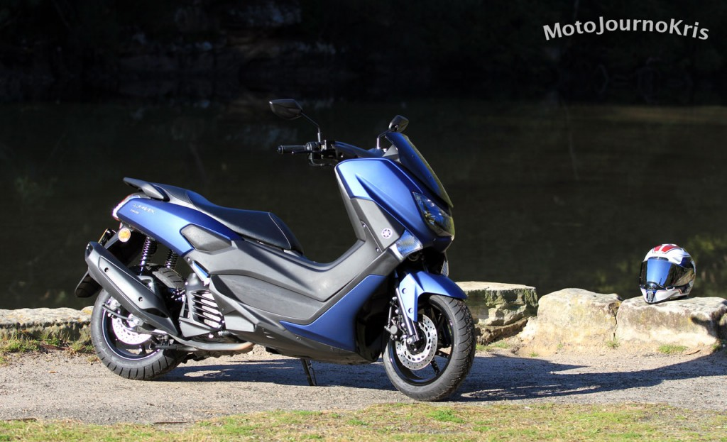 2020 Yamaha NMax 155 Ergonomics