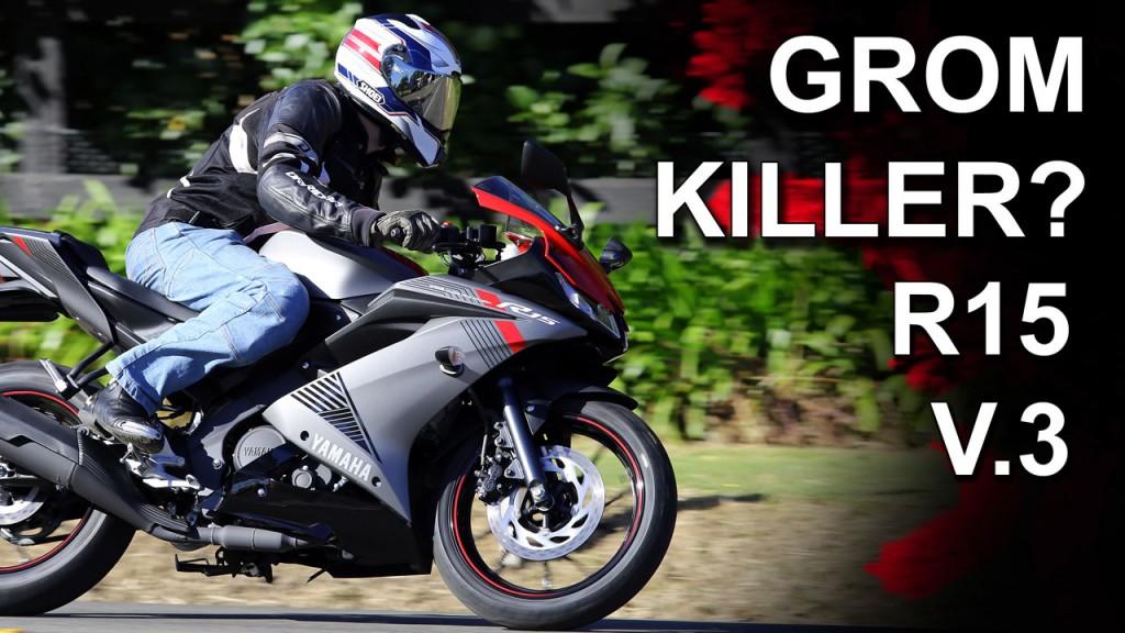 Is Yamaha's YZF-R15 V3.0 the GROM killer?