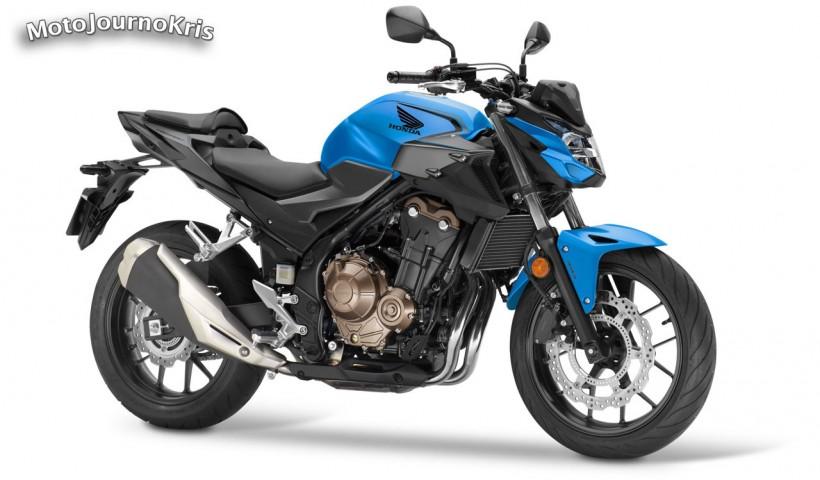 2021 Honda CB500F - Candy Caribbean Blue Sea