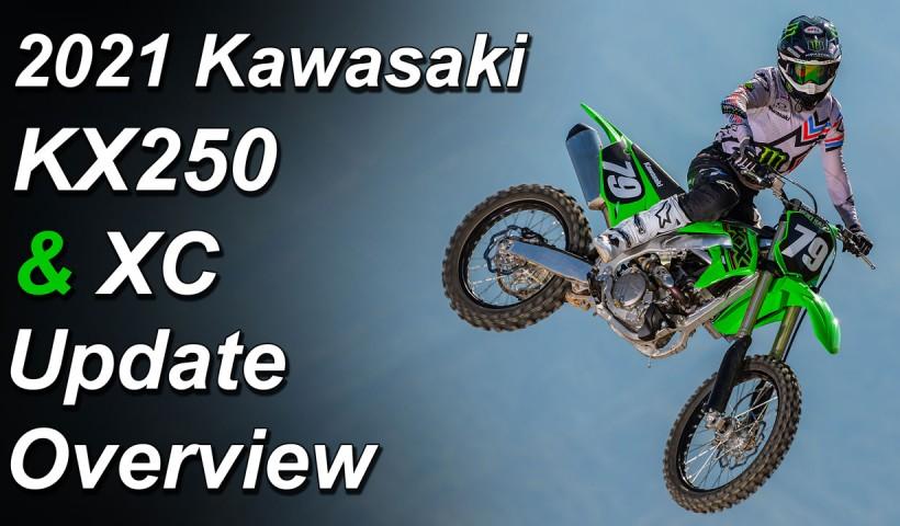 2021 Kawasaki KX250 & KX250 XC - What's New - Update Overview