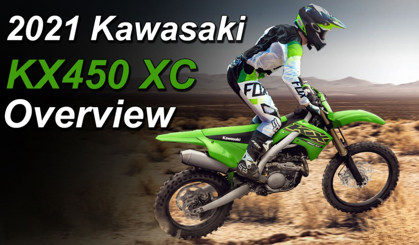 2021 Kawasaki KX450 XC New Model Video