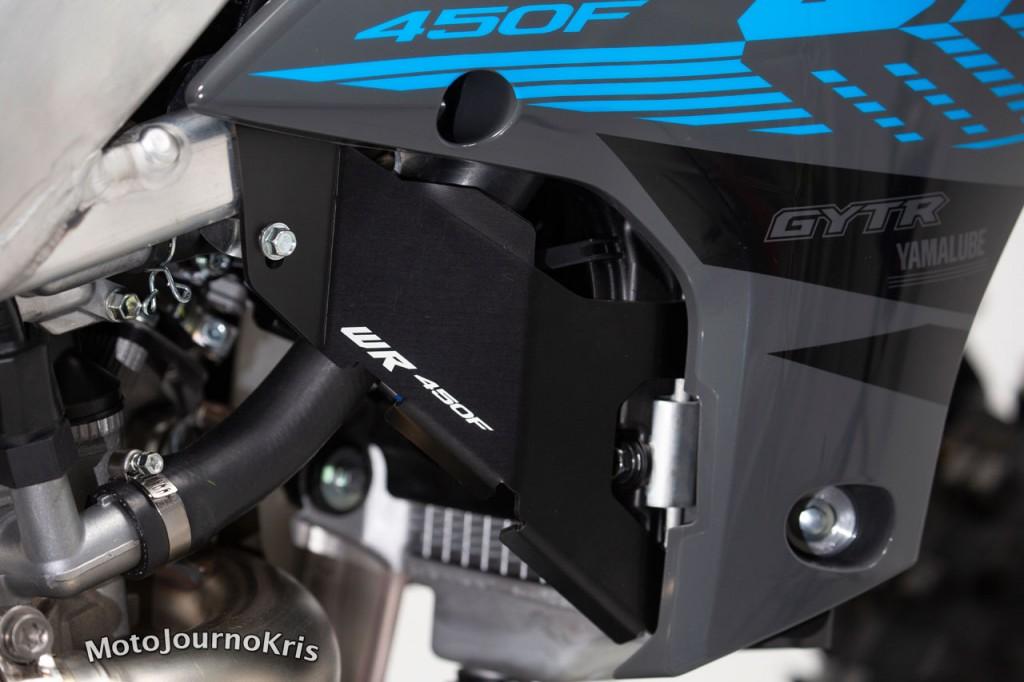2021 Yamaha WR450F Aussie Edition radiator guards