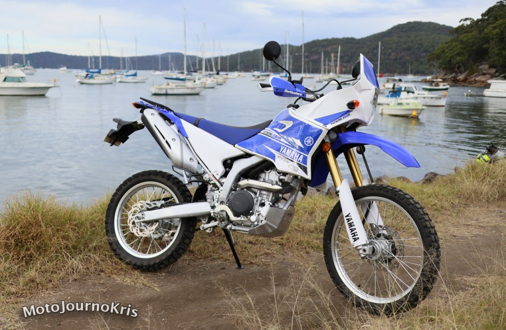 Yamaha WR250R with mods
