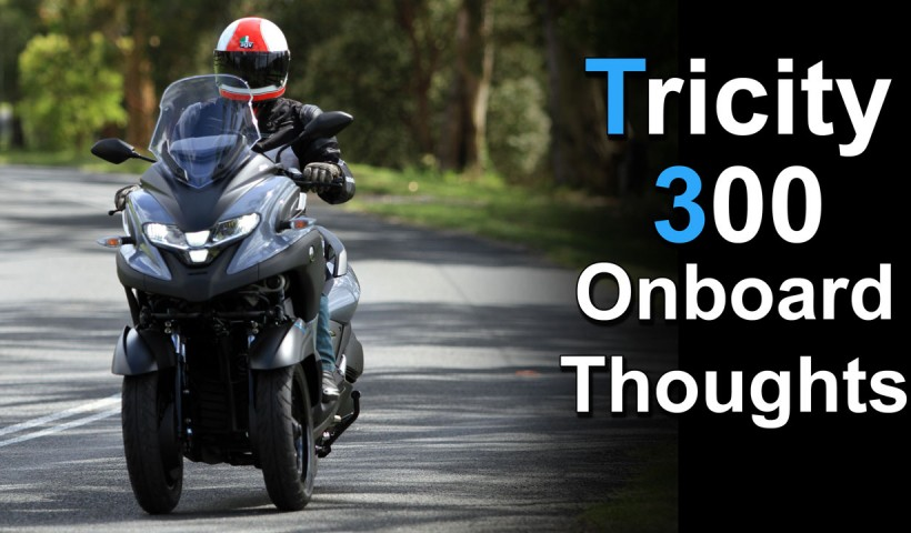 2020 Yamaha Tricity 300 Onboard Review