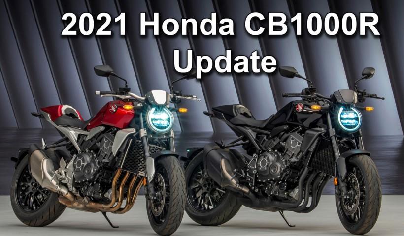 2021 Honda CB1000R Model Updates