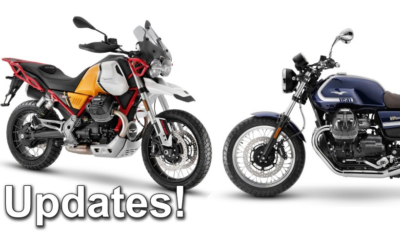 2021 Moto Guzzi model updates - V7, V9, V85 TT