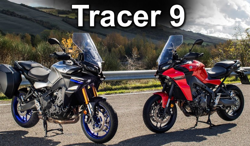 2021 Yamaha Tracer 9 & Tracer 9 GT Model Overview