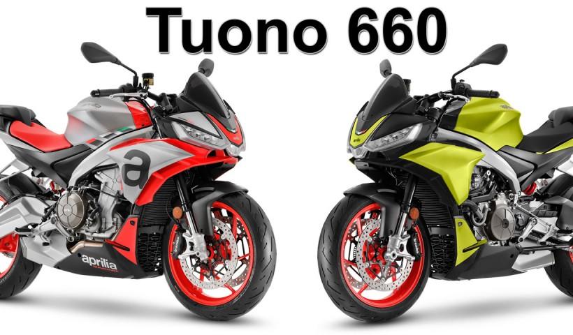 2021 Aprilia Tuono 660 New Model Overview