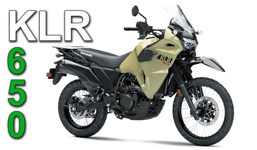 2021/2022 Kawasaki KLR650 model updates!
